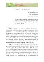ENVELHECER NO DISTRITO FEDERAL Paula Rincón Afonso ...