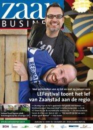 LEFestival toont het lef van Zaanstad aan de regio - Zaanbusiness