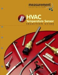 HVAC Selection Guide - Spectrum Sensors & Controls