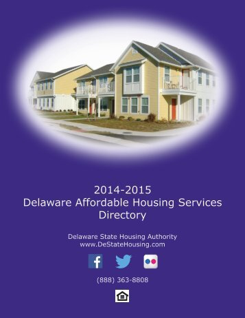 2012-2013 Delaware Affordable Housing Services Directory