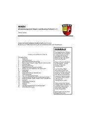 Durchführungsbestimmungen 2011-2012 - WKBV