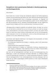 Perspektiven einer gemeinsamen Methodik in ... - Dr. Klaus Richter