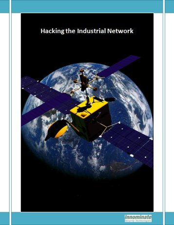 Hacking the Industrial Network - Remote Magazine