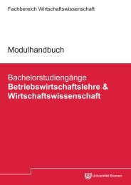 Modulhandbuch BWL_WiWi.pdf - Fachbereich Wirtschaftswissenschaft