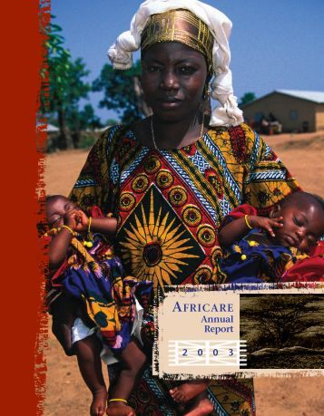 2003 Africare Annual Report