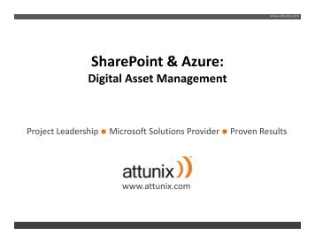 SharePoint & Azure: Digital Asset Management - Interface Tech Blog