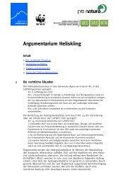 Argumentarium Heliskiing - Mountain Wilderness