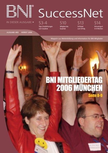 BNI SuccessNet Euro - BNI Europe