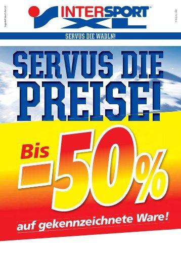 auf gekennzeichnete Ware! - INTERSPORT Österreich