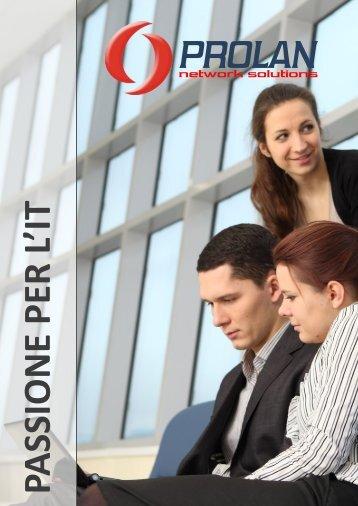 Presentazione aziendale.pdf - Prolan Network Solutions Srl