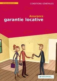 consulter les conditions générales de la garantie locative