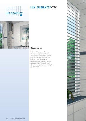 LUX ELEMENTS®-TEC - Lux Elements GmbH & Co. KG