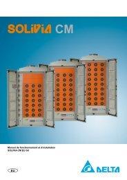 Manuel de fonctionnement et d'installation SOLIVIA CM EU G3