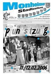 Stadtzeitung Monheim_2006-02-10.pdf - Stadt Monheim