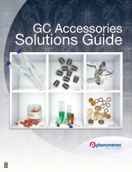 Solutions Guide - Phenomenex