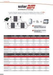 Le système Solaredge augmente le rendement de l'installation ...