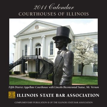 Download the 2011 – Courthouses of Illinois – Calendar
