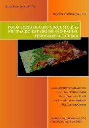 Boletim Técnico IAC, 213 - (ISSN 1809-7936) - Governo do Estado ...