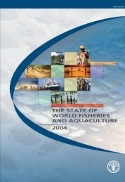 State of World Fisheries and Aquaculture 2004 - Library
