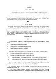 Vyhláška ze dne 18. března 2010 o dispečerském řízení ... - E.ON