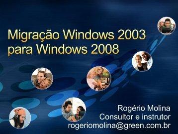 Windows Server 2008 Hyper-V - Green Treinamento