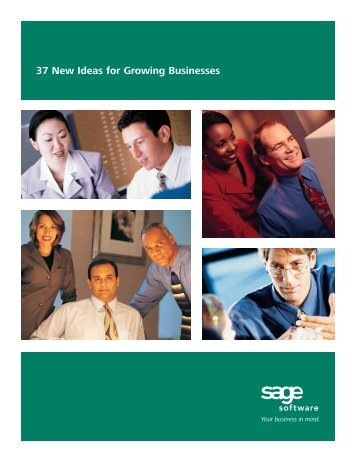37 New Ideas for Growing Businesses - Giving Tree Consulting