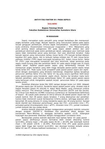 Suliarni, dr - USU Library - Universitas Sumatera Utara