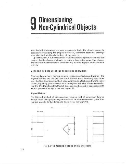 Dimensioning Non-Cylindrical Objects pdf