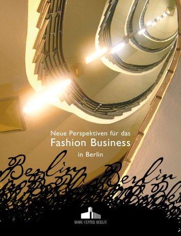 Fashion Business - Berlin Business Location Center