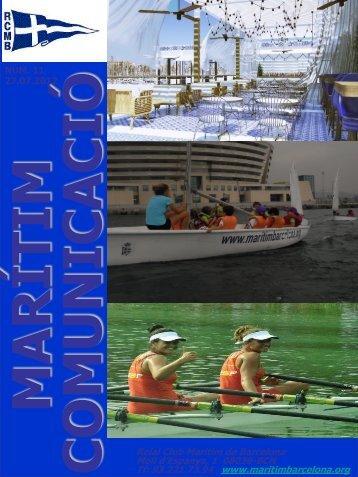 Obertura Restaurant Marítim - Reial Club Maritim Barcelona