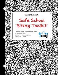 Safe School Siting Toolkit - National Association of School Nurses
