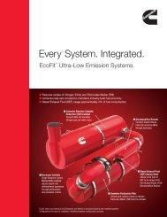 EveryTM System. Integrated. - Cummins Engines