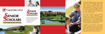 senior scholars - Coppell Independent School District