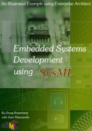 Embedded Systems Development using SysML - Enterprise Architect