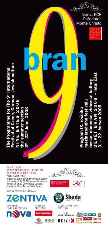 Program festivalu ke stažení zde - 9 bran