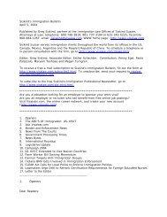 Siskind's Immigration Bulletin April 5, 2004 ... - Siskind, Susser