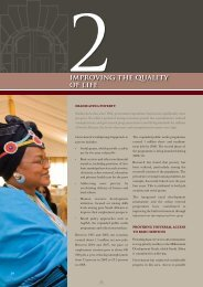 Improving The Quality of Life - The Presidency