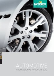 AUTOMOTIVE - Motorex