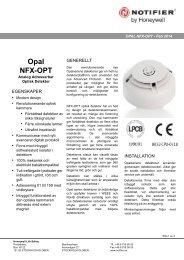 Opal Optisk - Notifier