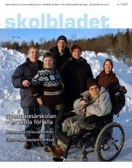 Gymnasiesärskolan – en skola för alla - Sundsvall