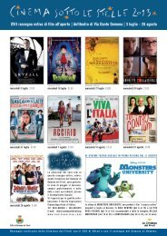 Cinema sotto le stelle - La Cineteca del Friuli