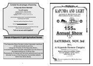 Friends of Kapunda & Light Agricultural Society