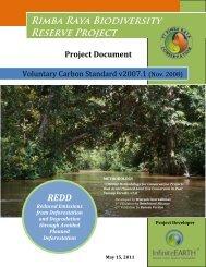 Rimba Raya Biodiversity Reserve Project - The Verified Carbon ...