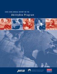 Annual Report (PDF) 2005/2006 - AbilityOne