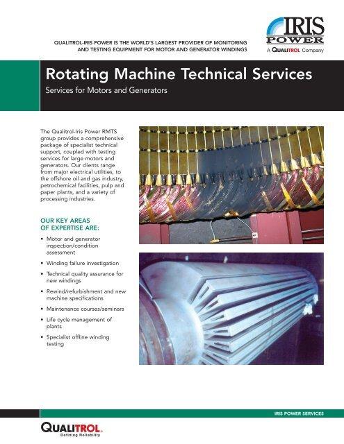 the RMTS brochure - PDF - Iris Power Engineering