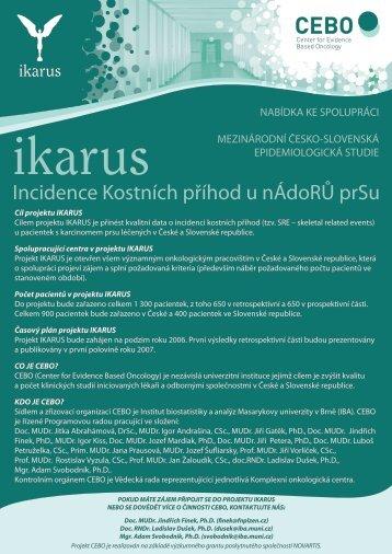 Incidence Kostních příhod u nÁdoRŮ prSu - Institut biostatistiky a ...