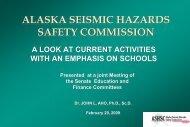 Presentation to the State of Alaska Senate Education and Finance ...