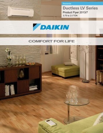 PF20USE13 07R FTXS RXS Ductless LV Series Product ... - Daikin AC
