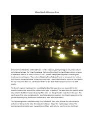 A Grand Vesak at Cinnamon Grand - Cinnamon Hotels & Resorts