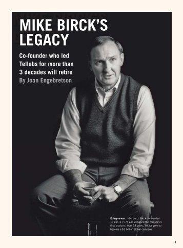 Mike Bircks Legacy - Tellabs